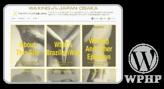 ブラジリアンワックス大阪.com_WordPress,ホームページ,カスタマイズ,デザイン,レスポンシブ,女性向け,サロン集客,安い,料金,toru chang